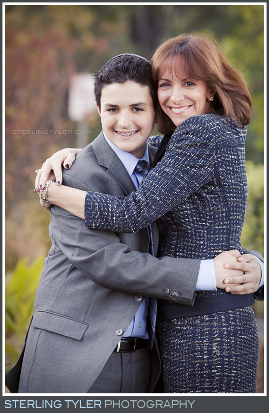 Temple Aliyah Bar Mitzvah Portrait Photography