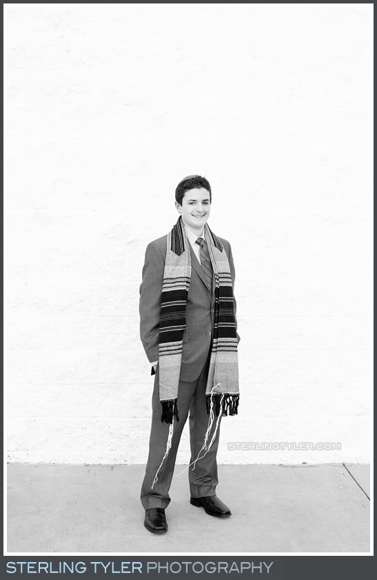 Temple Aliyah Bar Mitzvah Portrait Photo
