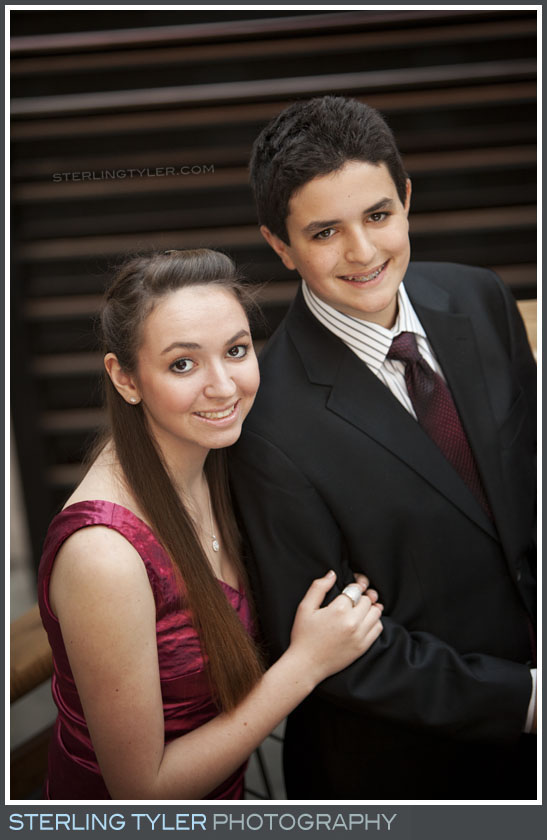 The Canyon Club Bar Mitzvah Portrait Photos