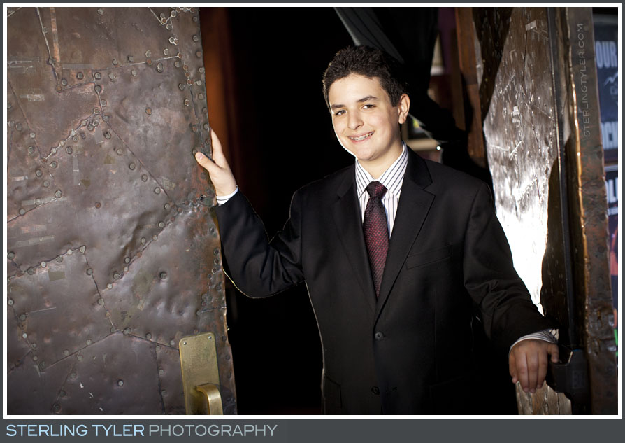 The Canyon Club Bar Mitzvah Portrait Photo