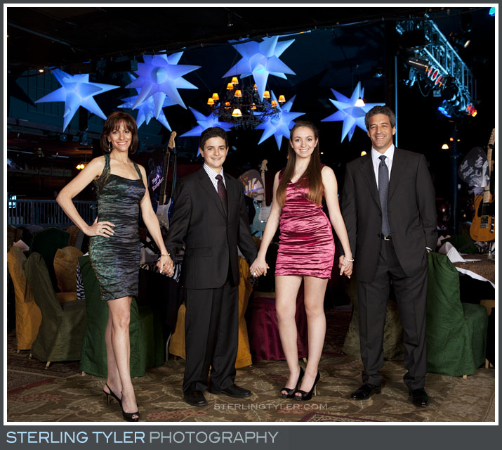 The Canyon Club Bar Mitzvah Portrait Photography