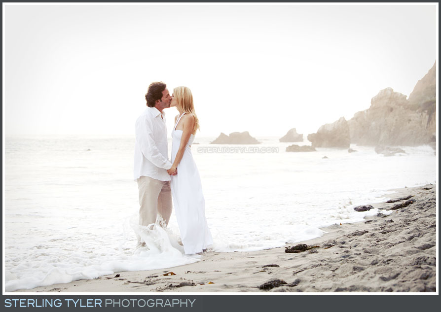 Malibu Beach Engagement