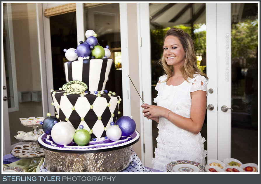 Calabasas Bridal Shower Portrait Photo