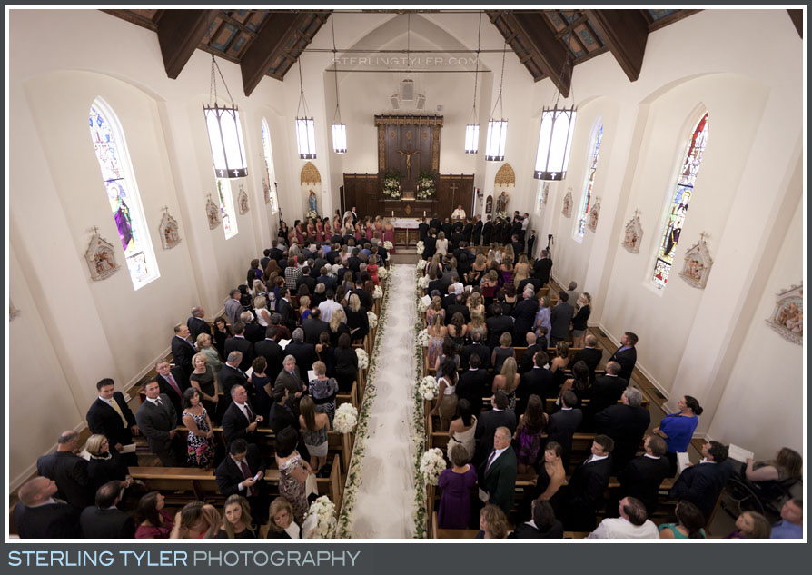 St. Helena Catholic Church Wedding service