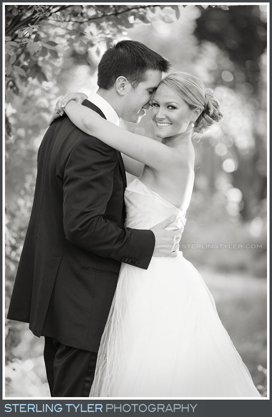 bride groom portrait black swan lake estate