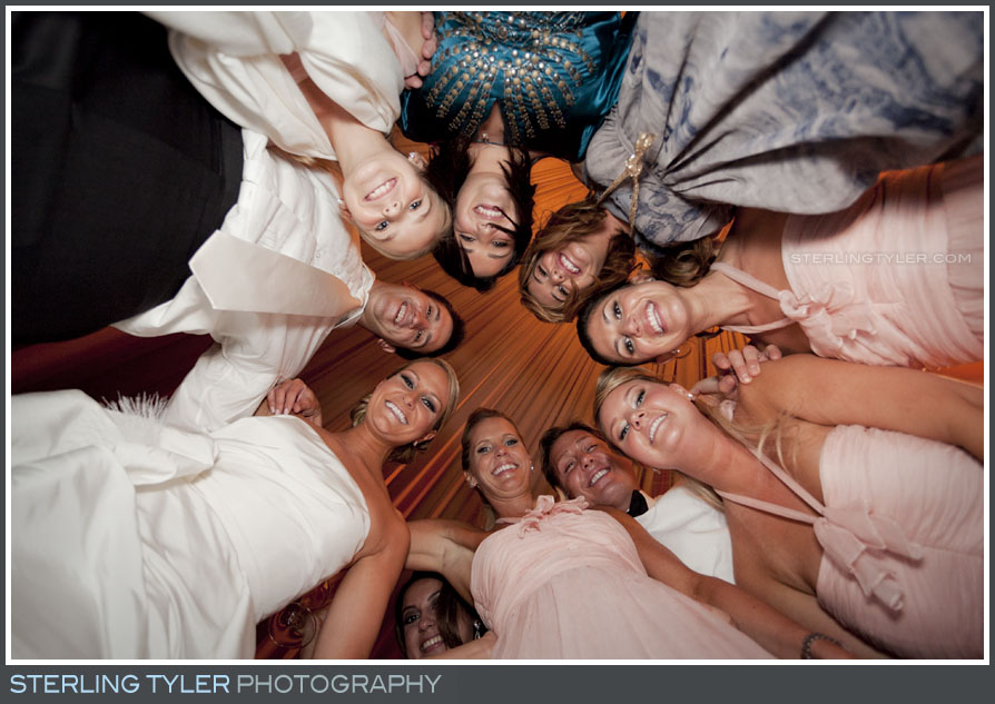 Black Swan Lake Estate Wedding Reception Portrait