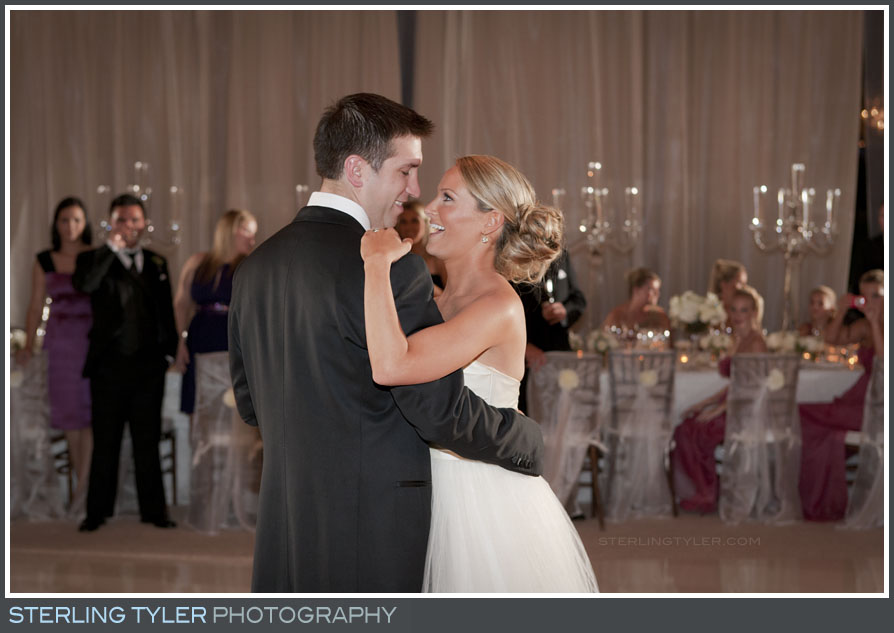 bride groom first dance portrait black swan lake