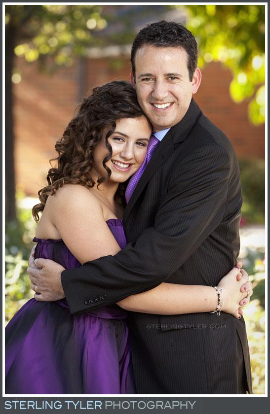 The Stephen S Wise Temple Bat Mitzvah Portrait Photography