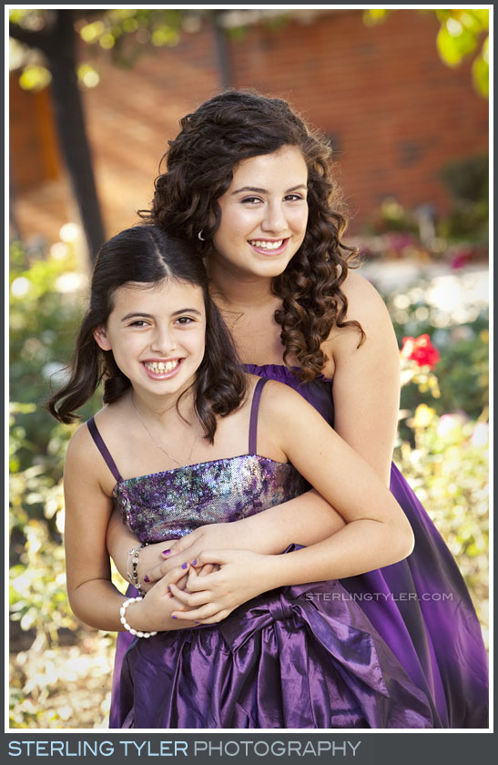 The Stephen S Weiss Temple Bat Mitzvah Portrait Photography