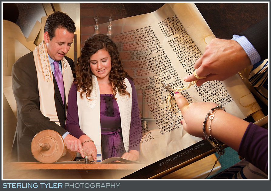 The Stephen S Wise Temple Bat Mitzvah Portrait Photos