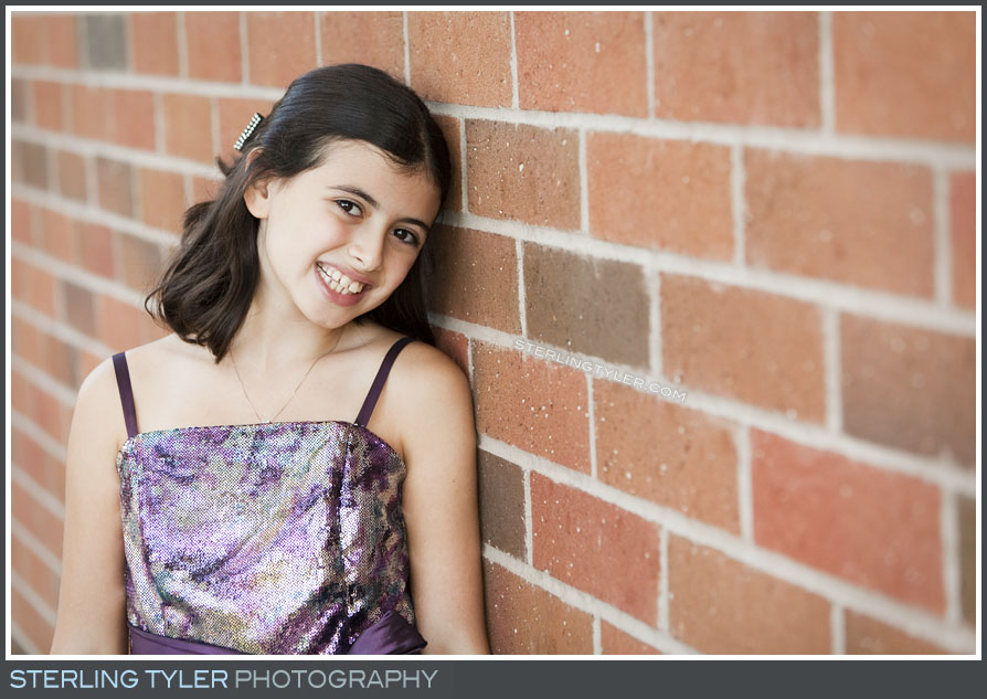 The Stephen S Wise Temple Bat Mitzvah Portrait Photography