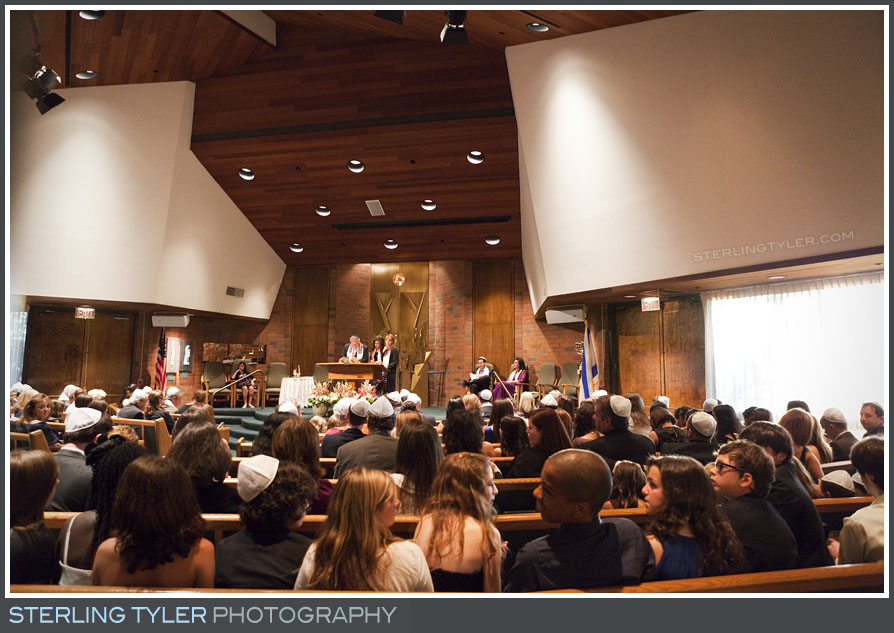 The Stephen S Wise Temple Bat Mitzvah Service Photography