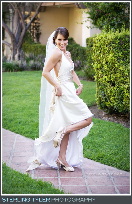 Westlake Village Inn Wedding Portrait Photo