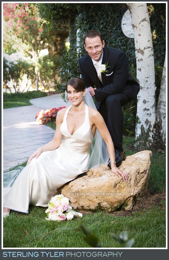 Westlake Village Inn Wedding Portrait Photos