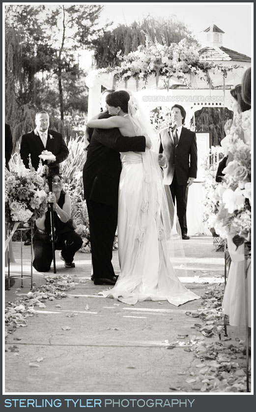 Westlake Village Inn Wedding Ceremony Photo