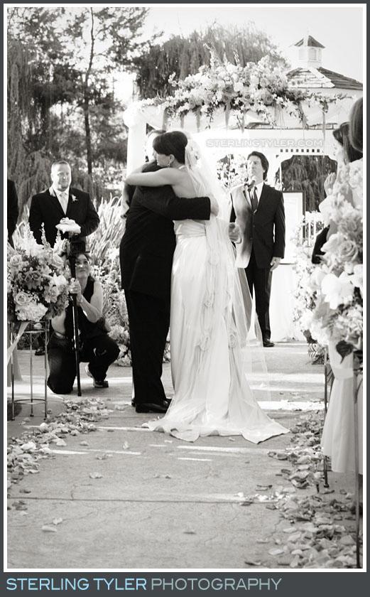 Westlake Village Inn Wedding Ceremony Photo