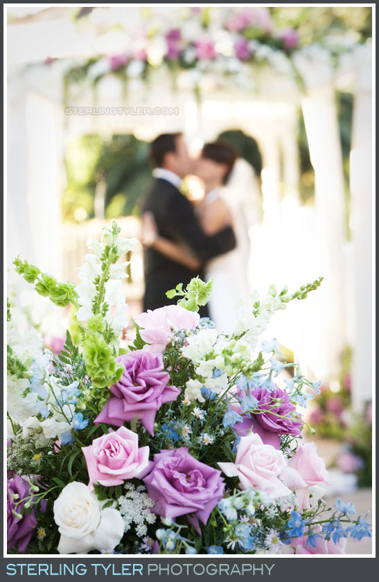 Westlake Village Inn Wedding Ceremony Photos