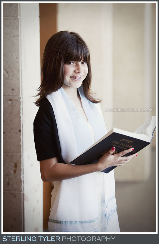 Temple Beth El B'Not Mitzvah Religious Portrait Photography