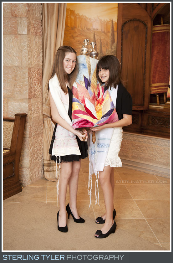 Temple Beth El B'Not Mitzvah Portrait Photos