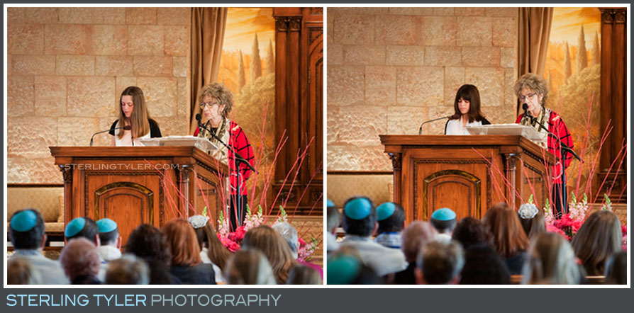 Temple Beth El B'Not Mitzvah Ceremony Photos