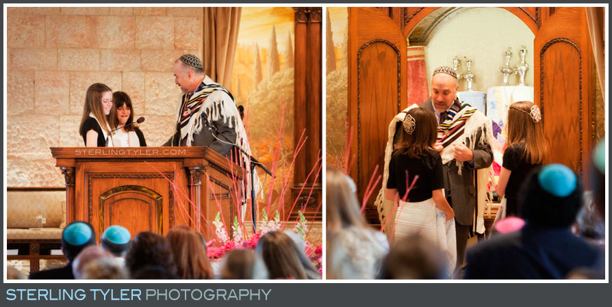 Temple Beth El B'Not Mitzvah Ceremony Photography