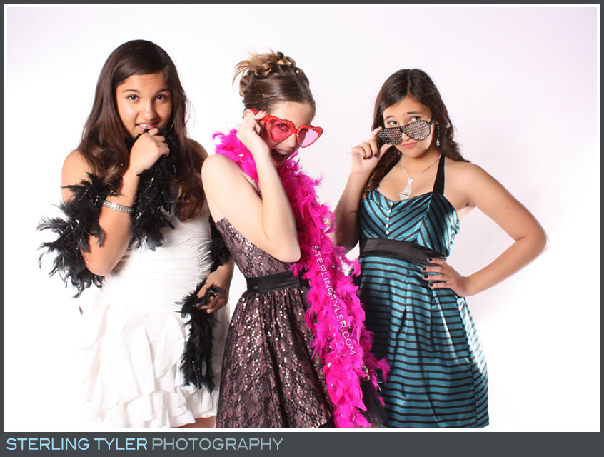 Party Photo Studio B'not Mitzvah Photo