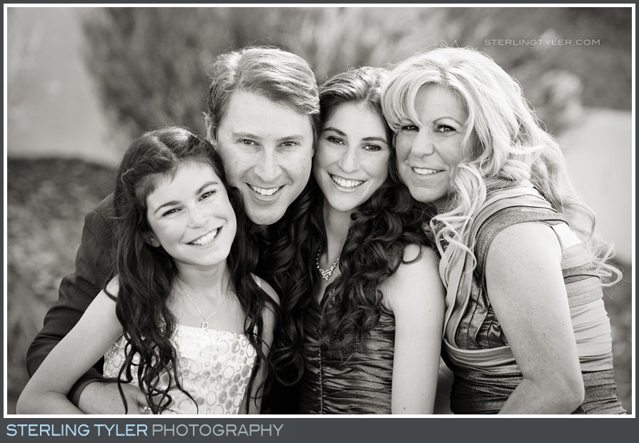 The Braemar Country Club Bat Mitzvah Family Portrait Photography