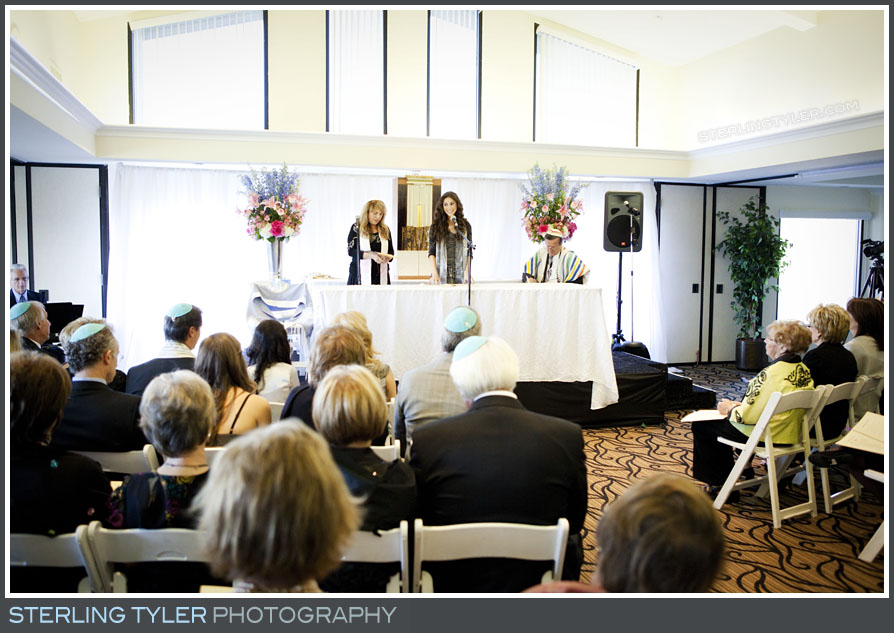 The Braemar Country Club Bat Mitzvah Service Photo