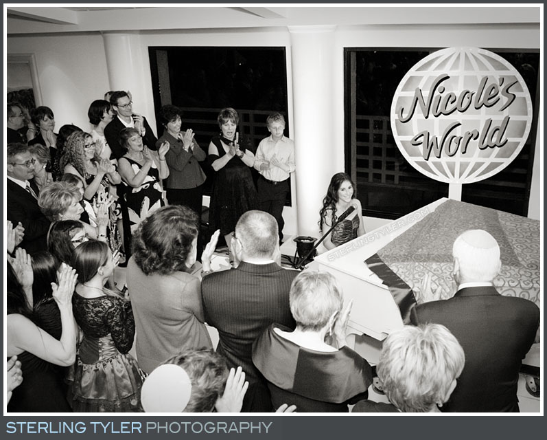 The Braemar Country Club Bat Mitzvah Reception Photography