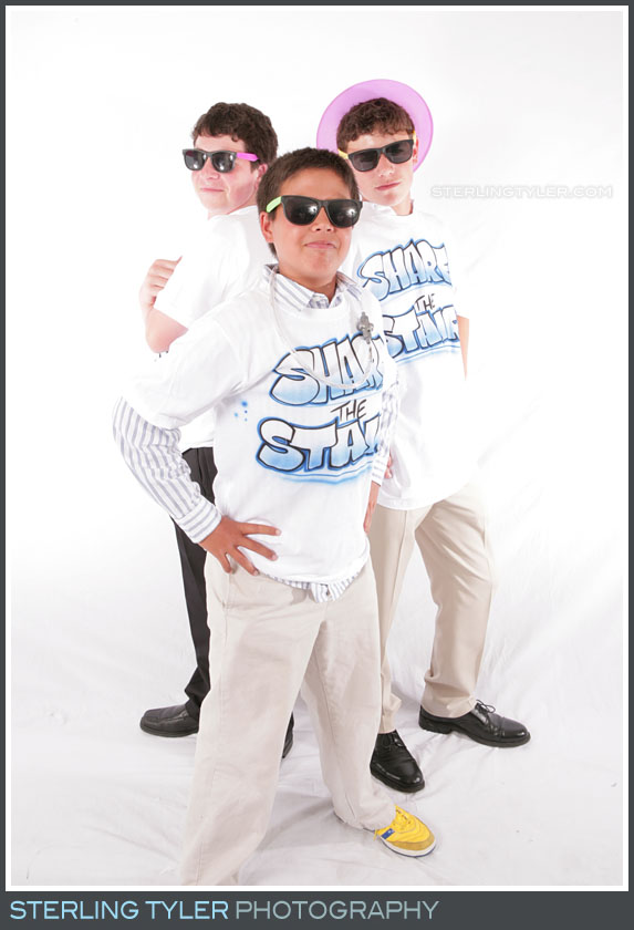 Party Photo Studio Bat Mitzvah Portrait Photo