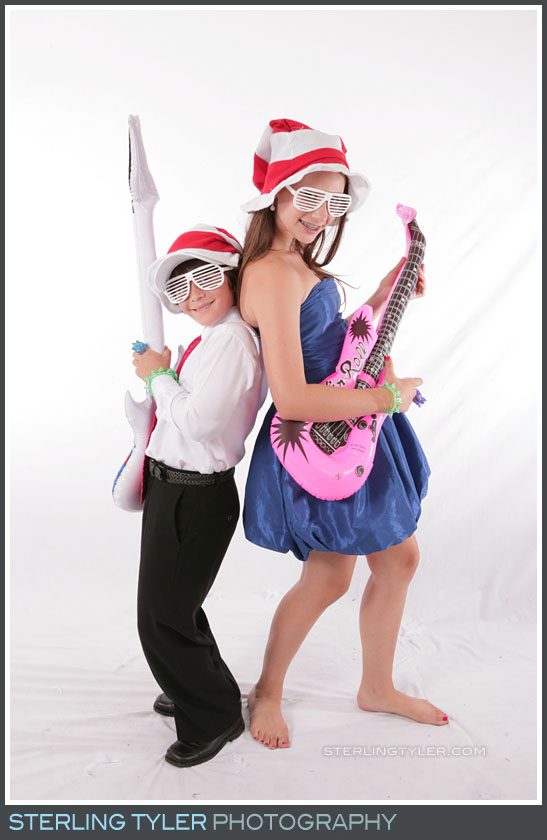 Party Photo Studio Bat Mitzvah Portrait Photography