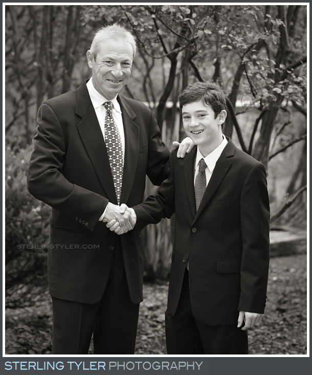 Temple Leo Leo Baeck Bar Mitzvah Portrait Photography