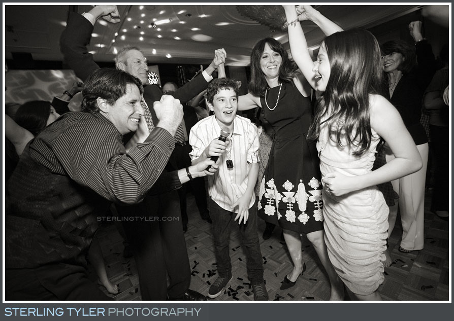 Brentwood Country Club Bar Mitzvah Reception Portrat Photography