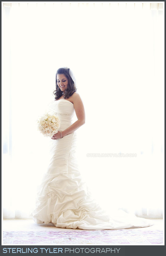 Four Seasons Westlake Wedding Bride Portrait Photography