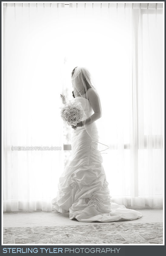 Four Seasons Westlake Wedding Bride Portrait Photos