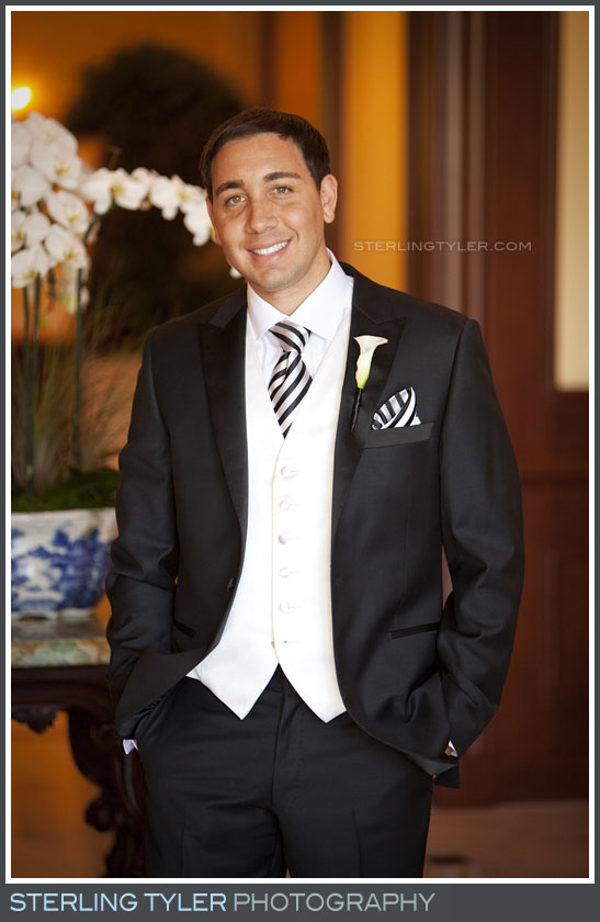 Four Seasons Westlake Wedding Groom Portrait Photography