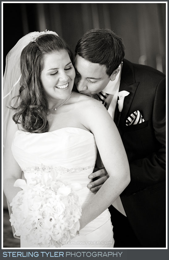 Four Seasons Westlake Wedding Couple Portrait Photo