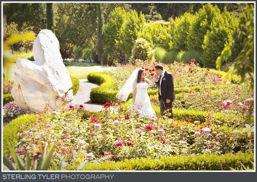 Four Seasons Westlake Wedding Couple Portrait Photo