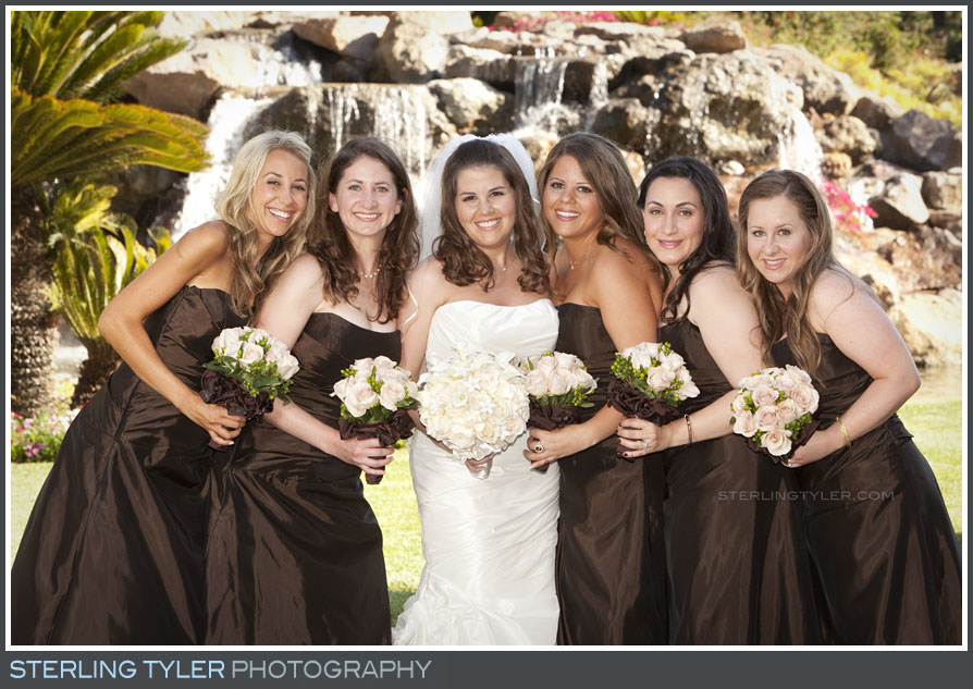 Four Seasons Westlake Wedding Bridal Party Portrait Photography