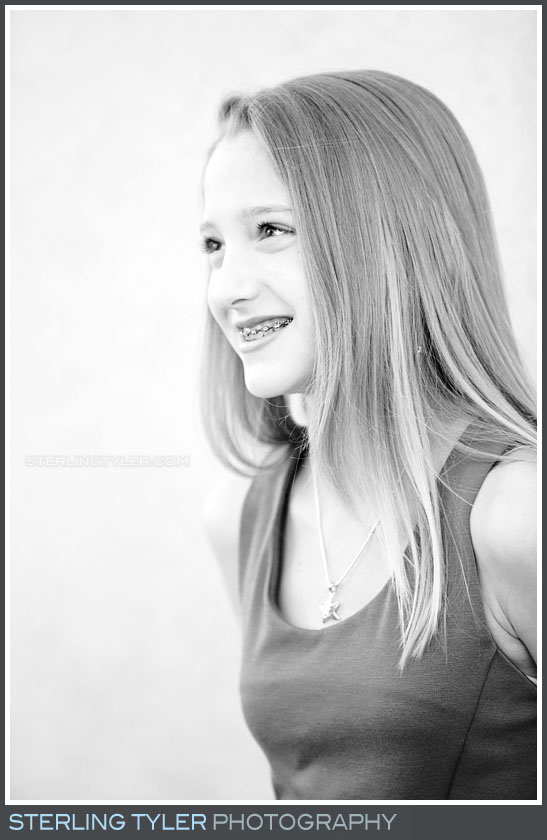 The Temple Beth El Bat Mitzvah Portrait Photography