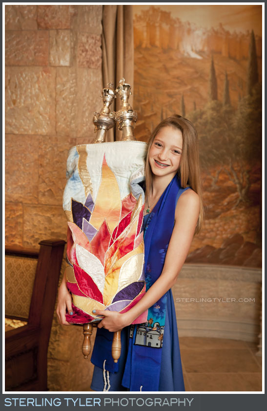 The Temple Beth El Bat Mitzvah Portrait Photos