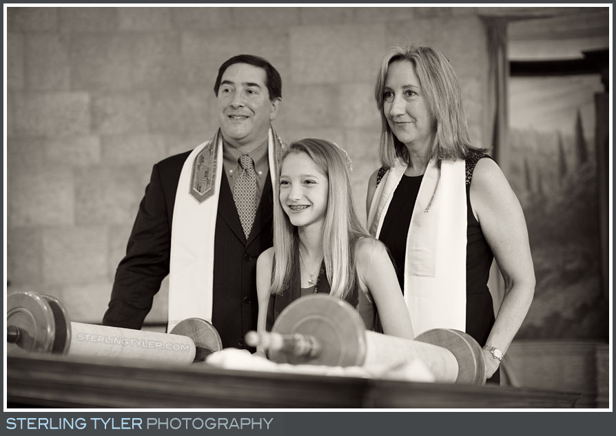 The Temple Beth El Bat Mitzvah Portrait Photo
