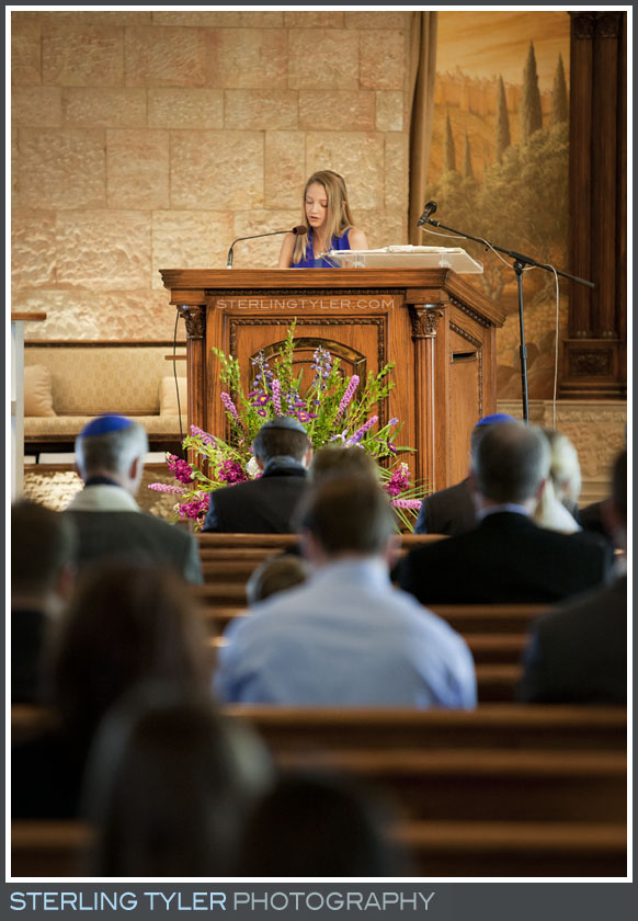 The Temple Beth El Bat Mitzvah Service Photography