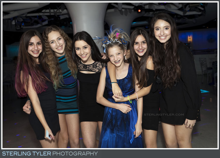 The Celebrations by Turnip Rose Bat Mitzvah Reception Portrait Photo