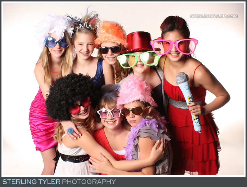 Party Photo Studio Bat Mitzvah Portrait Photos
