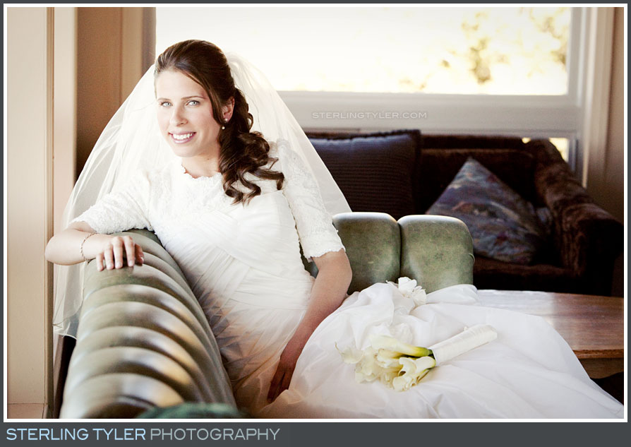 Camp Running Spring Wedding Bride Portrait Photography