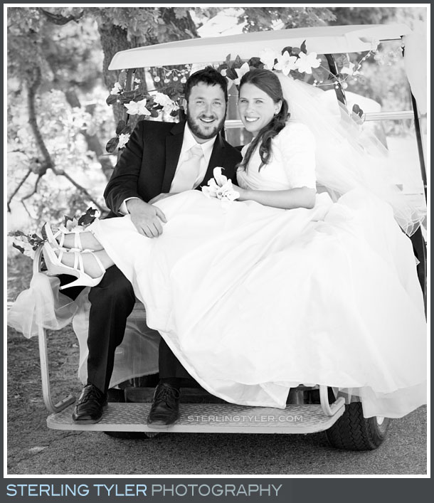 Camp Running Spring Wedding Portrait Photos