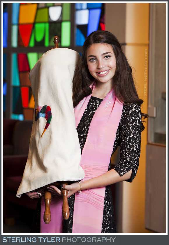 The University Synagogue Bat Mitzvah Portrait Photos