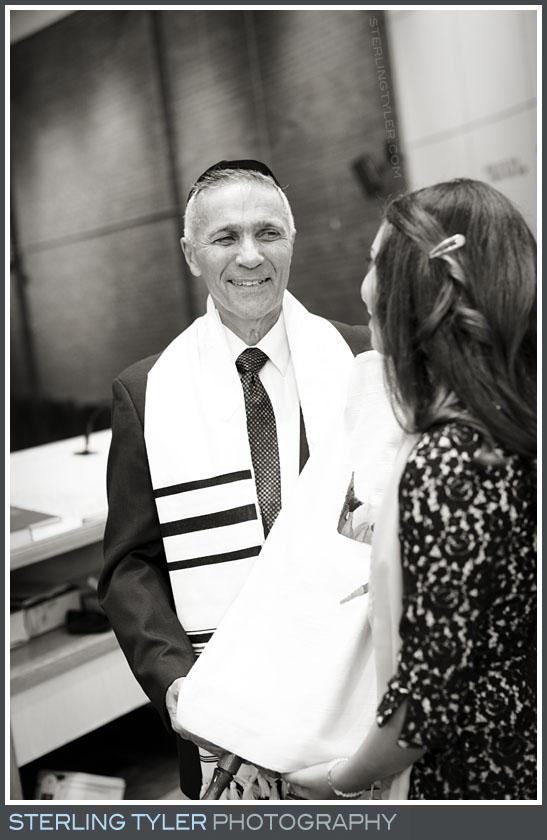 The University Synagogue Bat Mitzvah Portrait Photography