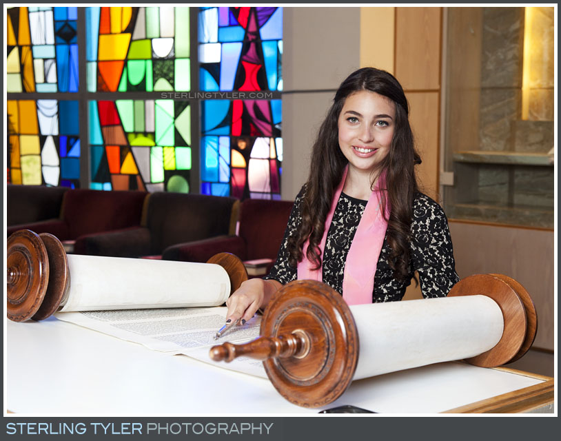 The University Synagogue Bat Mitzvah Portrait Photography
